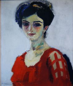 Женский портрет. масло, холст. Частная коллекция. Kees van Dongen