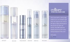 At first glance, you would think that this brand is a western brand right ? Wrong! Cellure Stem Cell Skincare is actually a brand under t