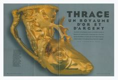 """Leading French newspaper Le Figaro has published a feature story on Bulgaria's Ancient Thrace exhibit in the Louvre in Paris entitled, """"Thrace - Land of Gold and Silver"""". Photo: BTV News/Le Figaro"""
