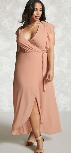 Hasil gambar untuk plus size wedding guest outfits Plus Size Wedding Guest Outfits, Plus Size Wedding Dresses With Sleeves, Dresses For Apple Shape, Plus Size Dresses, Plus Size Looks, Plus Size Model, Plus Size Fashion For Women, Plus Size Womens Clothing, Womens Best