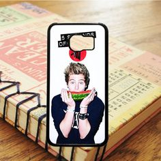5 Second Of Summer Band Luke Hemmings Samsung Galaxy S7 Edge Case