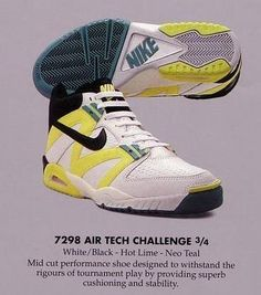 watch f3d87 45dff Nike tech challenge IV 1991