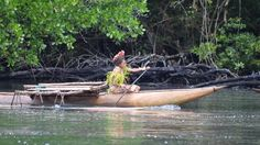 A Quick and Fun Outrigger Ride to Tufi Vlllage in Papua New Guinea