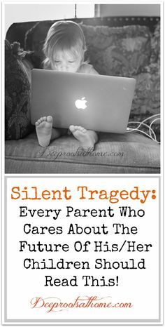 Silent Tragedy: Every Parent Who Cares About The Future Of His/Her Children Should Read This, I know that many would choose not to hear what I say in the article, but your children need you to hear this message. Even if you disagree with my perspective, please, just follow the recommendations at the end of the article. Once you see the positive changes in your child's life, you will understand why I say what I say! #kids #parenting #entertainment #children