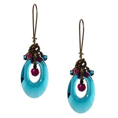 Color Pool Earrings | Fusion Beads Inspiration Gallery