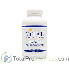 PreNatal Multi-Nutrients 180 Capsules