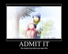 One does not simply watch Angel Beats and not cry. Ummmm teared up is the understatement of the century.