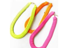 $8.99  Fluorescent Colors Choker Necklace