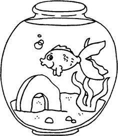 Coloring Pages Fish Tank coloring page fish tank fish tank