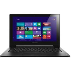 Lenovo IdeaPad S210 Touchscreen Laptop (€365) ❤ liked on Polyvore featuring electronics, tech, accessories, computer and other
