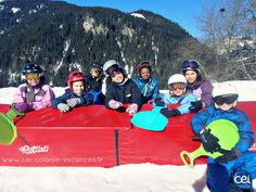 Session de luge avec  les #colos #enfants  à  #Châtel en #hautesavoie