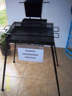 Asador Desarmable Portátil - $ 1.895,00 en Mercado Libre