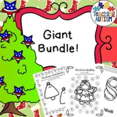 Christmas HUGE Activity BundleThis is a HUGE bundle consisting of both my Christmas Activity Bundle and Nativity Activity Bundle.With 799 pages in total this bundle includes the following;Christmas Bundle;* Numeracy Worksheets* Fine Motor Skills* Literacy Worksheets* Mazes* Spelling Boards/Tracting Boards* Word Puzzles* Word Families* Jigsaws * Color by Number* Word Search* Code Word Cracker* Word to Pic* Counting Task CardsNativity Bundle;* Nativity Flashcards (color or b+w)* Simplified…