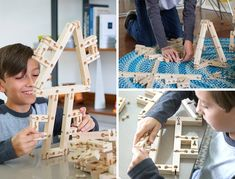 Bokah Blocks is raising funds for Bokah Blocks: Next Generation Wooden Construction Toy on Kickstarter! These aren't your ordinary building blocks! Build like never before with flexible joints that can bend, twist, pull and stretch! Flexible Joint, Wooden Building Blocks, Yanko Design, Project Ideas, Flexibility, Creativity, Doll, Projects, Dolls