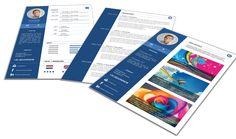 Origineel en Professioneel Portfolio CV format 3205. Volledig in Microsoft Word voor elke functie zelf aan te passen.