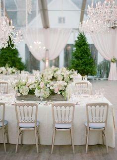 Featured Photographer: Jose Villa; Wedding reception idea.