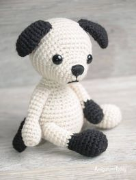 Dalmatian and German Shepherd Free Amigurumi Dog Crochet Pattern ... | 263x199