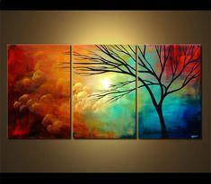 Landscape Painting - Moving West #3891