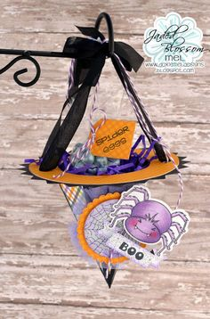 Jaded Blossom's September 2015 Release Blog Hop :: Spider's Witch Hat