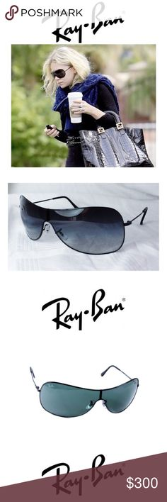 Ray•Ban//HIGHSTREET AVIATOR SUNGLASSES• BOUTIQUE • \\Ray•Ban// HIGHSTREET AVIATOR SUNGLASSES RB 3211 004/71 ::: Black frame + black Lens :: polarized ::: Brochure///Case///+Eyeglass cleaner ::: Ray-Ban sunglasses need no explanation. The classic shapes of rayban sunglasses are back also. Ray-Ban is the world's best selling brand of sunglasses and has been around since 1937.  Product Dimensions: 7.4 x 2.8 x 2.6 inches Shipping Weight: 5.6 ounces ASIN: B003H8F0BG Ray-Ban Accessories Sunglasses