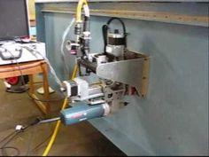 Portable CNC milling machine - YouTube
