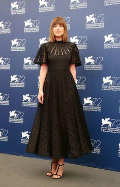 Dakota Johnson in Valentino   - HarpersBAZAAR.com