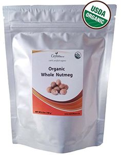 Organic Whole Nutmeg oz), Premium Grade, Harvested & Packed from a USDA Certified Organic Farm in Sri. Title: Organic Whole Nutmeg oz), Premium Grade, Harvested & Packed from a USDA Tea Recipes, Whole Food Recipes, Chai Tea Benefits, Chai Seed, Homemade Chai Tea, Vanilla Chai Tea, Chai Tea Recipe, Fresh Fruits And Vegetables, Organic Farming