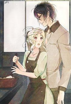 Sakamaki Reiji and Yui | Diabolik Lovers #anime