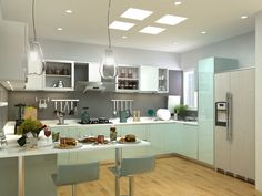 Girgit is the best Interior designer in Bangalore. They come up with the different interior design to your home.Just look the beautiful kitchen interior.If you want more kitchen interior designs visit our website.