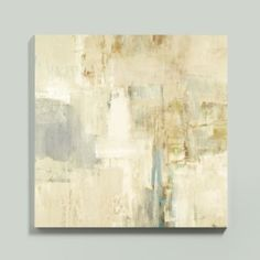 If you've walked along the Seine on a misty morning, you've experienced the same mood that inspired this abstract by Michelle Bennett. Stretched Canvas Version.