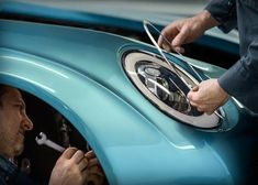 """MINI has teamed up with Italian bespoke sports-car design company Touring Superleggera to create the MINI Superleggera Vision"""