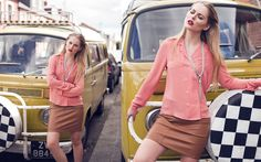 No Particular Place to go - Lookbooks - Features Red Leather, Leather Jacket, Places To Go, Jackets, Fashion, Studded Leather Jacket, Down Jackets, Leather Jackets, Moda
