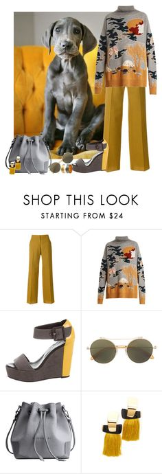 """""""Your Best Friend"""" by freida-adams ❤ liked on Polyvore featuring Pringle of Scotland, Barrie, Pierre Hardy, Lizzie Fortunato and Maison Margiela"""