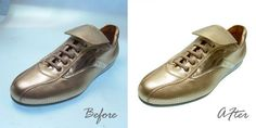 Background removal and color enhancement #Shoes Photo
