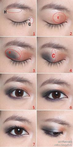 how to make a simple makeup step by step