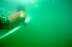 Duckdive - Mit dem Surfbrett unter Wasser