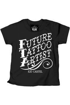 FUTURE TATTOO ARTIST $14.95 at www.rebelcircus.com
