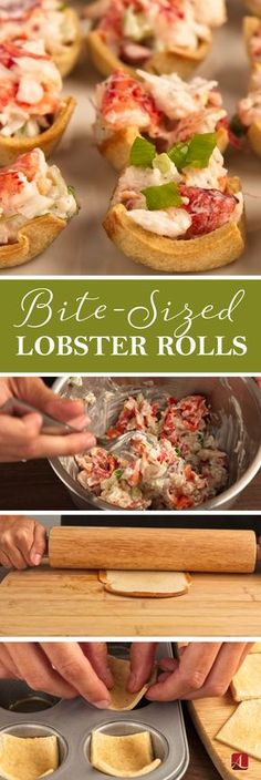 Bite Sized Lobster Rolls Bite Sized Lobster Rolls From The Large Buttery Rolls To The Sweet Lobster Meat Lobster Rolls Are A Party Favorite Bite Sized Lobster Rolls Easy Appetizer Recipes Appetizer Lobsterrolls Fingerfoods Lobster Appetizers, Appetizers For A Crowd, Finger Food Appetizers, Easy Appetizer Recipes, Finger Foods, Party Appetizers, Bite Size Appetizers, Easy Recipes, Gourmet Appetizers