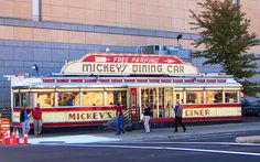 Because I live in MN and still have yet to eat here!  -Mickey's Dining Car in St Paul, Minnesota-