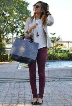 Color/length of pant and blazer