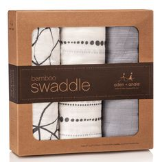 Aden and Anais Moonlight 3 Pack Bamboo Muslin Swaddle Blankets Set Boy Girl Gray Muslin Swaddle Blanket, Swaddle Wrap, Swaddling Blankets, Muslin Blankets, Baby Swaddle, Receiving Blankets, Boy Nursery Bedding, My Bebe, Shower Bebe
