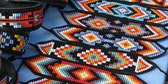 native american bead patterns free | native american beadwork how to bead native american beadwork ...
