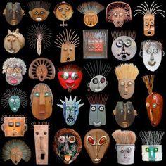 AluMosaics - Mosaics from Aluminum Cans - purple club Found Object Art, Found Art, Totems, Sculpture Art, Sculptures, Recycled Art Projects, Scrap Metal Art, Masks Art, Assemblage Art