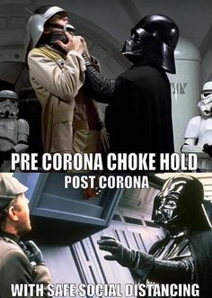 """We've curated a selection of """" 18 Funniest Corona Memes for You to Look Through """" because these will make you more fun. Discover more hilarious memes here. Star Wars Film, Star Wars Poster, Star Wars Witze, Star Wars Jokes, Stupid Funny Memes, Funny Relatable Memes, Hilarious, Funny Stuff, Nerd Memes"""