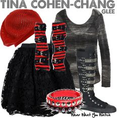 Inspired by Glee character Tina Cohen Chang played by Jenna Ushkowitz.