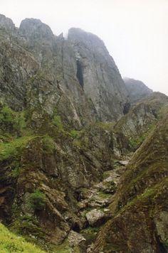 Ossian's Cave, Glencoe, Scotland