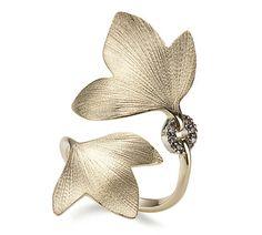 Anel de ouro amarelo 18K com diamantes cognac - Coleção Hera Link:http://www.hstern.com.br/joias/p-produto/A2O189692/Anel/hera/anel-de-ouro-amarelo-18k-com-diamantes-cognac---colecao-hera