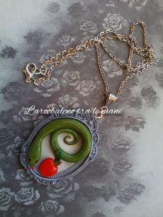 Cammeo handmade Serpente di LarcobalenoTraLeMani su Etsy