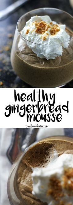 You'll never believe how healthy this mousse is and it can be made in just 5 minutes! #vegan #glutenfree