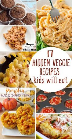Can't get your Kiddos to eat their Veggies? Here are 17 yummy recipes you can serve tonight!